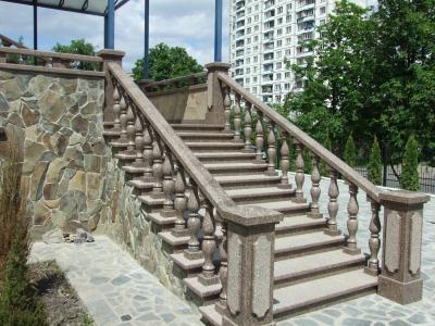 фото Лестницы, входные группы из гранита